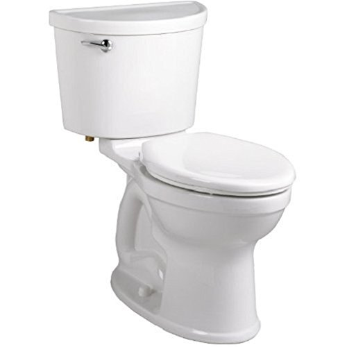 (American Standard 211AA.104.020 Champion PRO Right Height 12-Inch Rough-In Elongated Toilet Combination Less Seat, White)