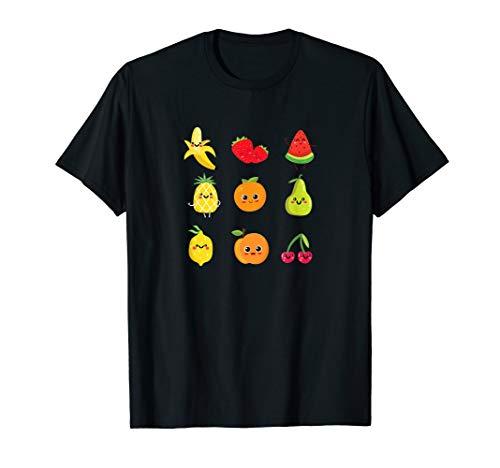 (Fruit Collage Vegan Plant Based Diet Fruit Lover Gift T-Shirt)