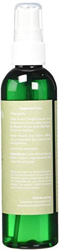 White Sage Smudge Spray. Smokeless Sage Spray. 8 Ounce by Moonwater Elixirs (Image #1)