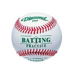 UPC 039403135118, Diamond DBP Batting Practice Baseball (White, One Dozen)