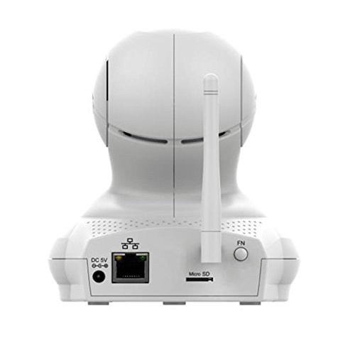 SereneLife Reliable Wireless Camcorder Bundle, White (AZIPCAMHD61)