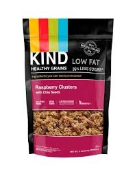 KIND Healthy Grains Granola Clusters, Raspberry with Chia Seeds, 11 Ounce Bags, 3 Count by KIND