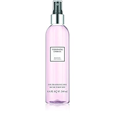 Vera Wang Embrace Body Mist for Women Rose Buds and Vanilla Scent 8 Fluid Oz. Body Mist Spray Romantic, Floral and Warm Fragrance