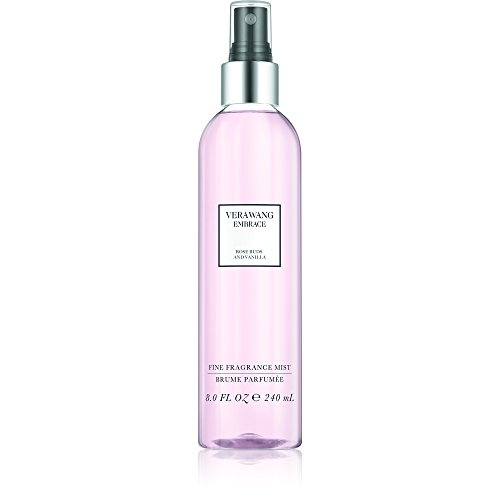 Vera Wang Embrace Body Mist for Women Rose Buds and Vanilla Scent 8 Fluid Oz. Body Mist Spray...