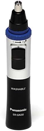 Panasonic ER-GN30-K Nose Ear & Hair Trimmer, Wet/Dry