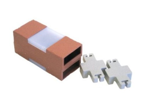 Plastic Brick Edging With Solar Lights