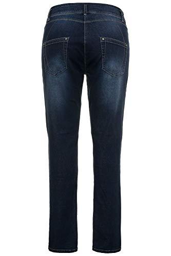 Ziern Femme Mit Skinny Popken Jeans hten Bleached Ulla Glitzerelementen Und 92 Bleu qB80tAEnxw