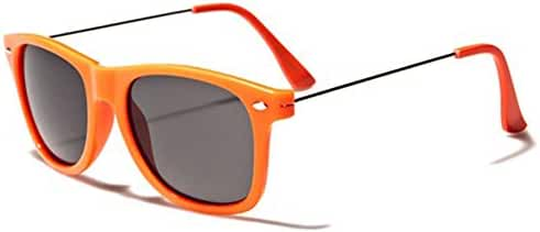 Colorful Neon Frame Retro Fashion Sunglasses - Metal Wire Arms