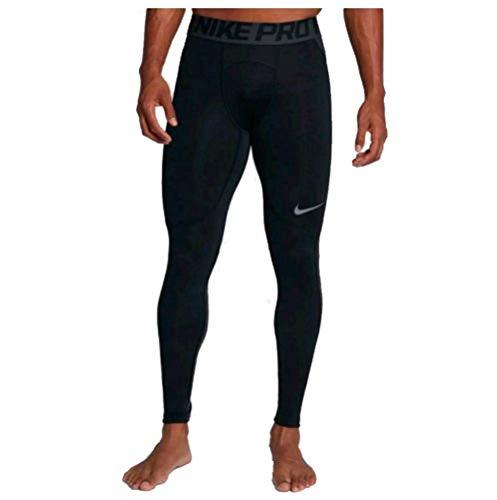 Nike Men's Pro Hyperwarm Compression Tights - Black/Anthracite (Large)