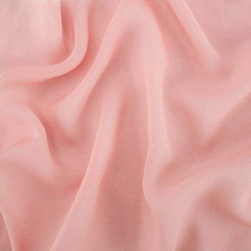 Dusty Rose Pink Silk Georgette, Fabric by The Yard