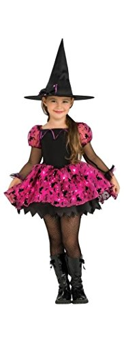 [Moonlight Magic Witch Toddler Costume] (Girls Light Up Witch Costume)