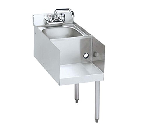 Krowne 21-18BDR - 2100 Series 18'' Blender/Dump Sink Modular Add-On Legs on Right by Krowne Metal