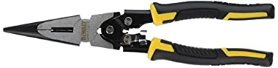 DEWALT DWHT70277 Compound Action Long Nose Pliers 4-1/2 Inch
