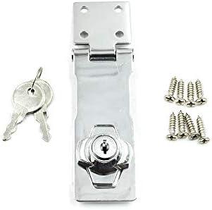 Door Lock Clasp Buckle Vintage Door Lock Drawer Locker Cabinet Lock Door Locker Home Lock Buckle from Hole
