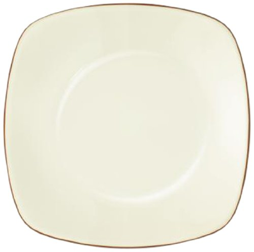 Noritake Colorwave Square Platter, 11-3/4-Inch, Terra Cotta Brown