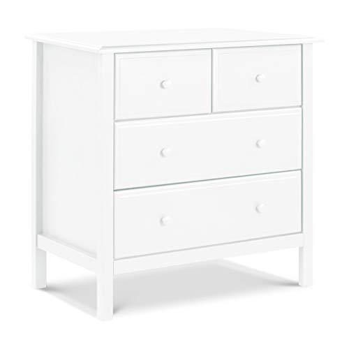 DaVinci Autumn 4-Drawer Dresser, KD, White