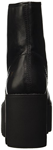 para Frill Windsor Altas Black Mujer Leather Smith Negro Zapatillas qR6vTP1w