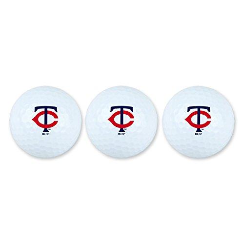 Team Effort MLB Minnesota Twins Golf Ball Pack of 3Golf Ball Pack of 3, NA -