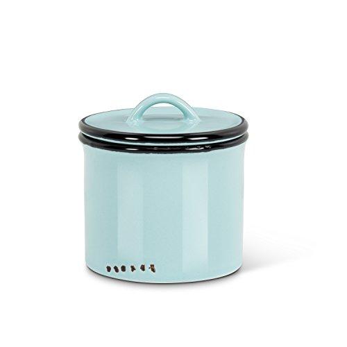 Abbott Collection 27-Enamel/Jar Grn Look (Enamelware Canister)