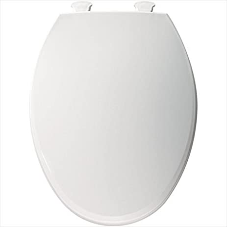bemis toilet seat with child seat. Bemis 1800EC000 Plastic Elongated Toilet Seat With Easy Clean And Change  Hinges White