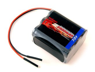 (Tenergy 7.2V 2000 mAH NiMH Square Rechargeable Battery Pack for Walking Robots and RC)