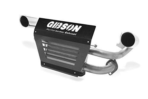 Gibson 98021 Stainless Dual Exhaust (1 Gibson Exhaust Tip)