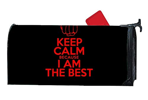 Rockwell F Berlin Unique Mailbox Makover Cover Keep Calm I Am The Best Meme 1920x1200 45342 Lightweight Attractive Mailbox Makeover Outdoor Magnetic 6.5W x 19L -
