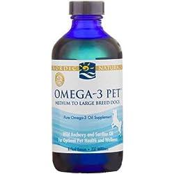 Nordic Naturals - Pet-Omega-3, Promotes Optimal Pet Health and Wellness, 8 Ounces