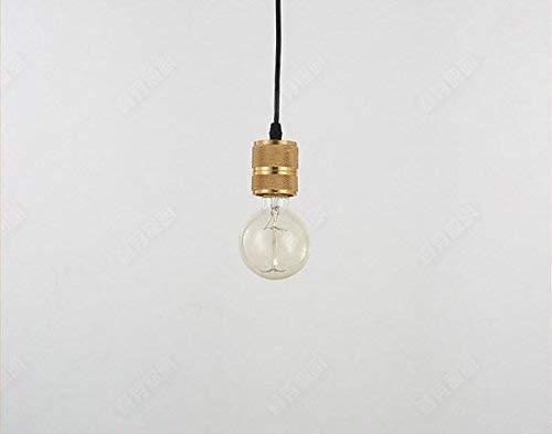 Eeayyygch Moderne kreative Persönlichkeit Restaurant Lampe Cafe Bar Schlafzimmer leuchtet einfache Kupfer Kopf Kronleuchter (Farbe   -, Größe   -)