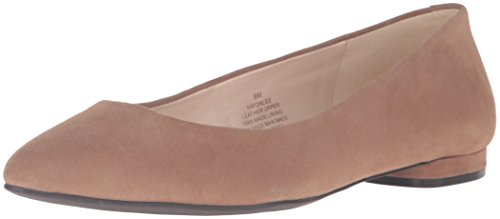 Onlee Plate Daim Chaussure Nine West Naturel 5AwI66