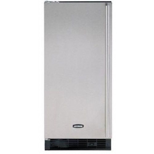 Marvel 30iMT-BB-F-L Indoor Clear Ice Machine, Black Door, Left Hinge, 15-Inch, Black by Marvel