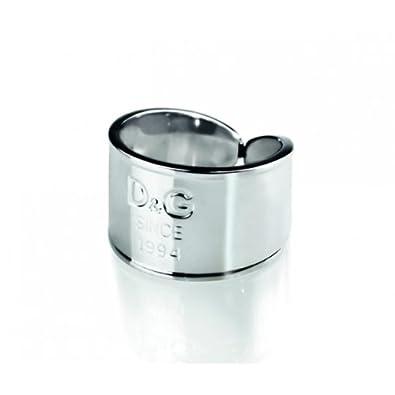 meilleures baskets 863d4 18cf4 Dolce & Gabbana - DJ102254 - I D&G - Bague Femme - Acier - T ...
