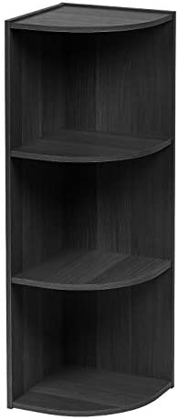 Convenience Concepts Designs2Go Go-Accsense 3-Shelf Glass Bookcase, Clear Glass