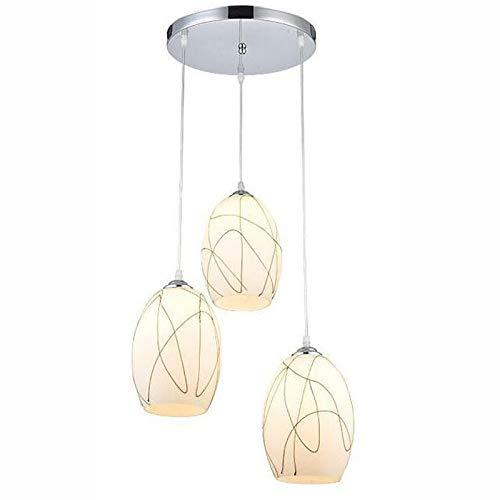 Lámpara Colgante Nórdica de Esfera con Luces Decorativas
