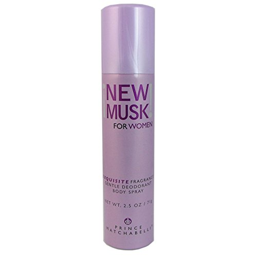 New Musk By Prince Matchabelli For Women. Gentle Deodorant Body Spray 2.5 Oz (White Musk Body Spray compare prices)