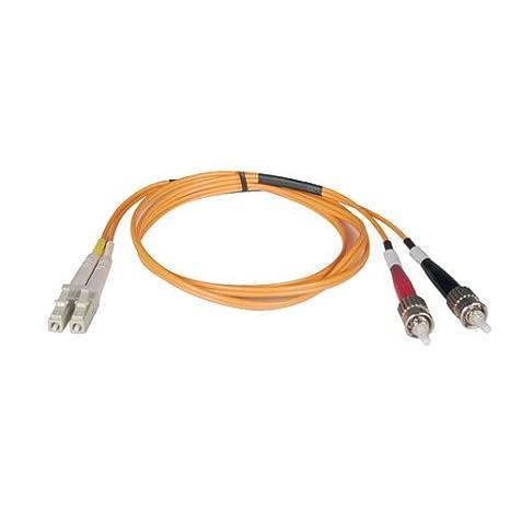 Tripp Lite N318-02M 6 -Feet Duplex Multimode 62.5/125 Fiber Optic Patch Cable LC/ST - 2M Network Cables
