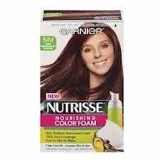 Garnier Nutrisse Nourishing Color Foam, 5IM Iced Mahogany Brown (Pack of 2) ()