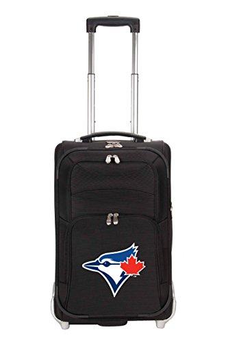 mlb-toronto-blue-jays-denco-21-inch-carry-on-luggage-black