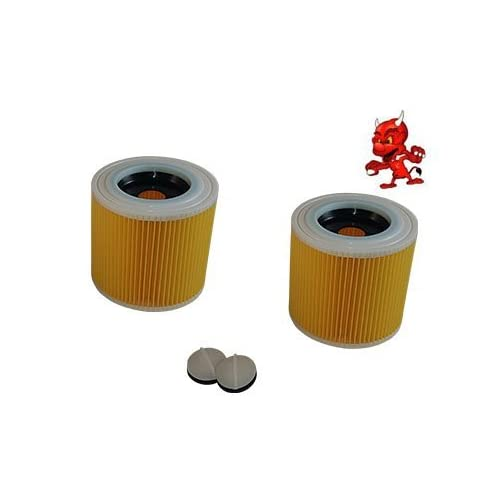 2 Cartouche de filtre Filtre rond FILTRE À LAMELLES convient à Kärcher A 2206 X
