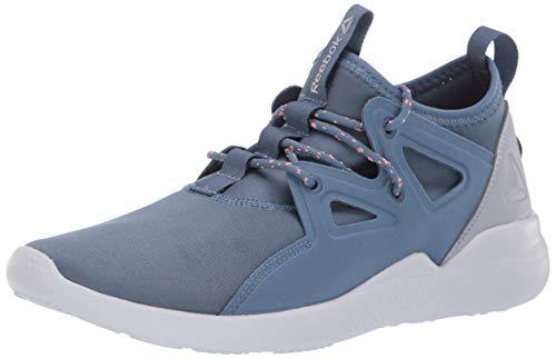 Reebok Women's Cardio Motion Cross Trainer, Blue Slate/Cloud Grey/SPI, 10.5 M US
