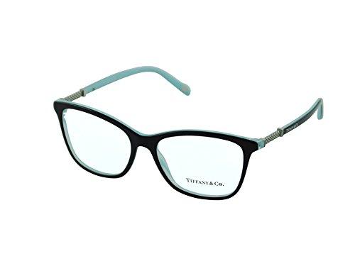 Tiffany eyeglasses TIF 2116B eyeglasses 8193 Black striped blue ()