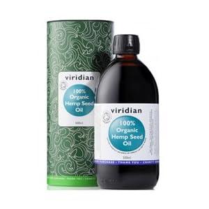 100% Organic Hemp Seed Oil 500ml