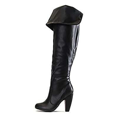 Bamboo Women's Mozza-12 Knee-High Boot Boot