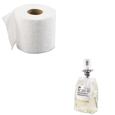 Kitbwk6145rcp3486579 value kit rubbermaid commercial prod enriched foam alcohol free e3 Boardwalk 6145 bathroom tissue