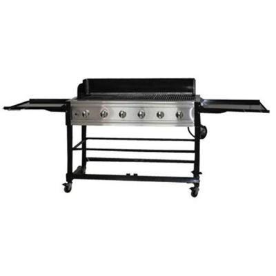 Amazon Com Brinkmann 6 Burner Delivering 72000 Powerful Btus Total Propane Gas Grill Garden Outdoor
