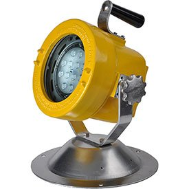 Lind Equipment XP1830LED-50P 39W Led Explosion-Proof Floodlight, w/50' Cord & (50p Plug)