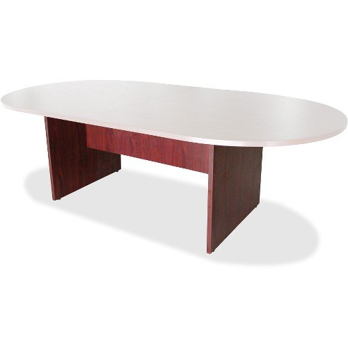 Lorell Conference Table Base, 96 by 48 by 28-Inch, Mahogany by Lorell