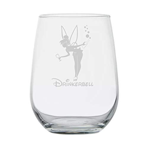Fairy Gifts ★ Drinkerbell ★ Disney Wine Glass ★ Funny Birthday Gifts ★ Movie Themed ★ Couples Gifts ★ Disney Princess Wine Glasses ★ Fairy tales ★ Mermaids ★ Best Friend Birthday Gift -