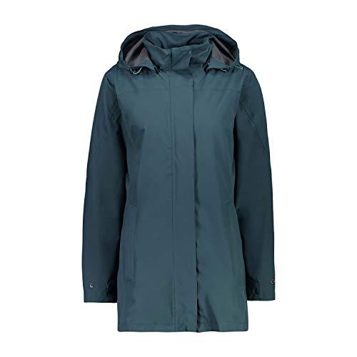 CMP Damen Regenparka Wind- und wasserdichte Wp 10.000 Jacke