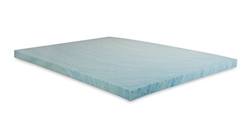Independent Sleep 4-Inch Gel Memory Foam Topper, Queen